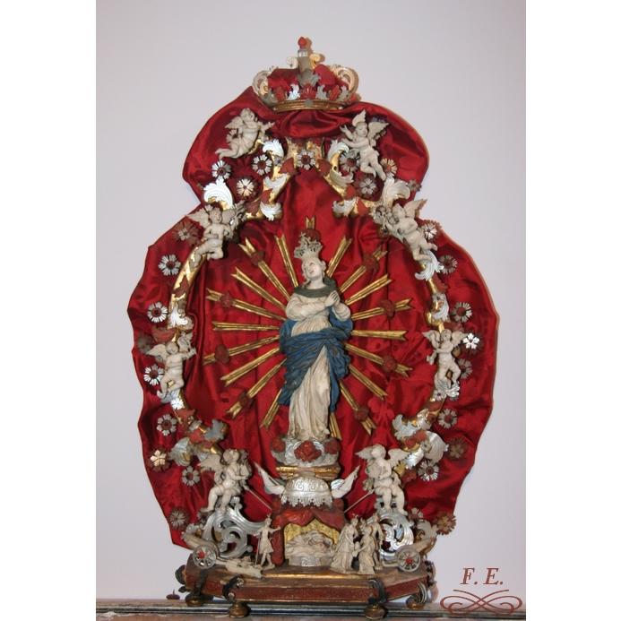 Inmaculada con Judith y Olofernes