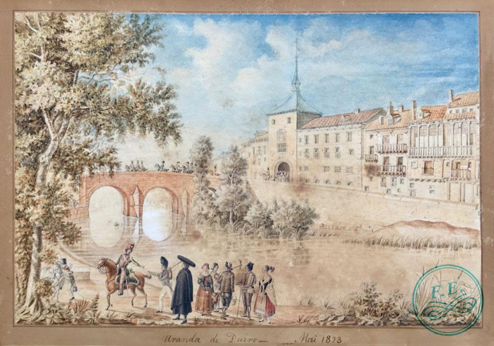 Juan Martín Díez «el empecinado» a las puertas de Aranda de Duero