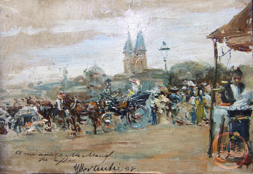 Feria en la Alameda de Granada