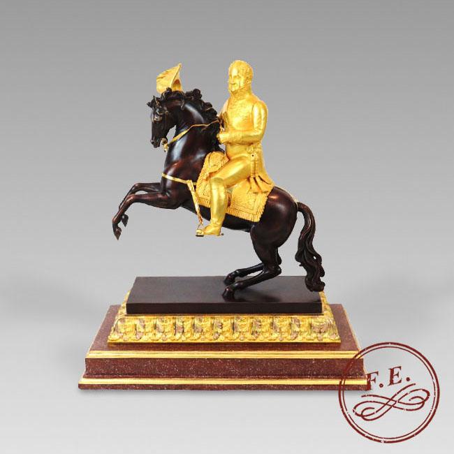 Fernando VII a caballo