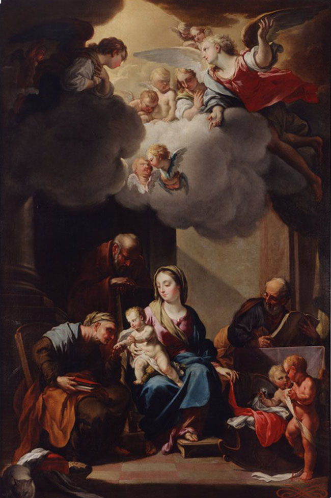 Sagrada Familia con San Joaquín y Santa Ana