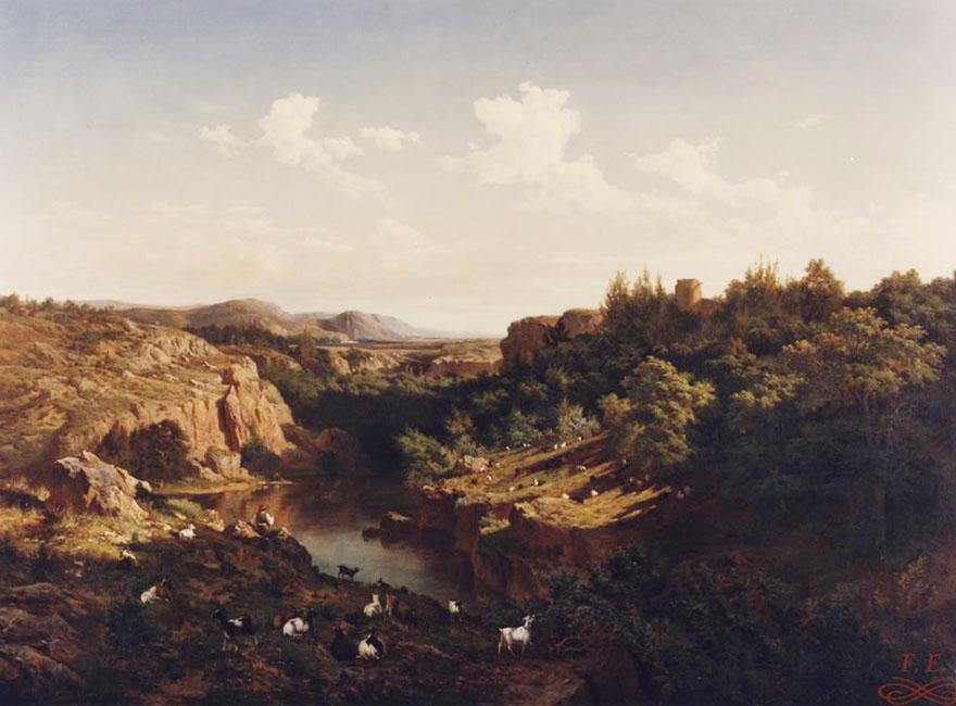 Vista tomada en las cercanías del Monasterio de Piedra